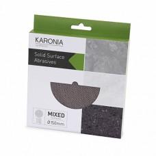 Karonia Sanding Discs 150mm Ø - MIXED (Box of 10)