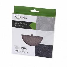 Karonia Sanding Discs 150mm - P400 (Box of 10)