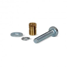 Fastening Bolts & Brass Plug Insert Set (Bag of 20) 25mm